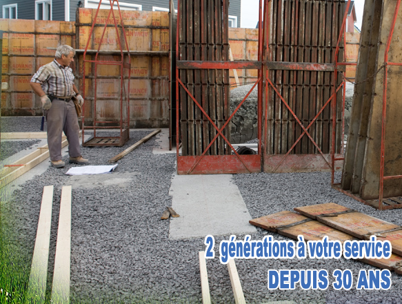 Entrepreneur en solage construction robinson mont rgie for Entrepreneur construction maison